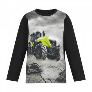 Bilde av MY Traktor topp svart/gul