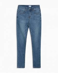 Bilde av Grunt Stay vintage jeans acid blue