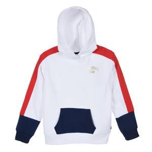 Bilde av Levi`s hoodie hvit gull logo 6 og 8 år