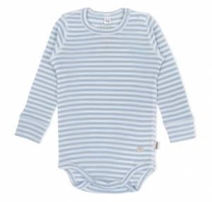 Bilde av LL ullbody striper lyseblå